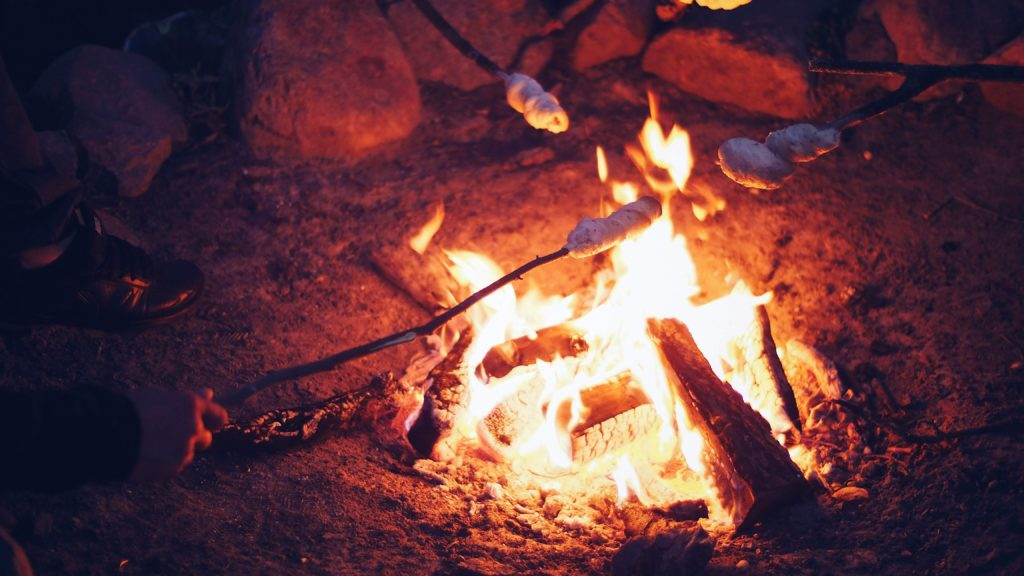 Lagerfeuer Herbst